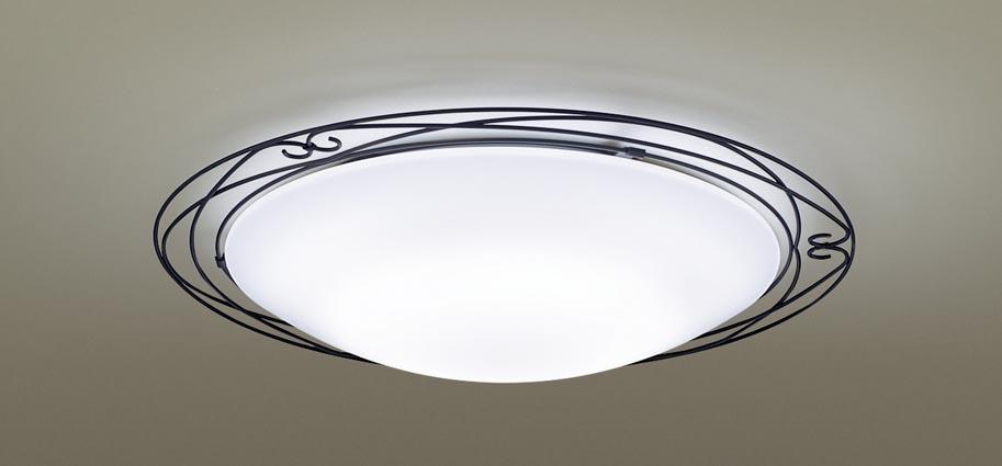 【最安値挑戦中!最大25倍】パナソニック LGC51141 シーリングライト 天井直付型 LED(昼光色~電球色) リモコン調光・調色 カチットF ~12畳 アイアン