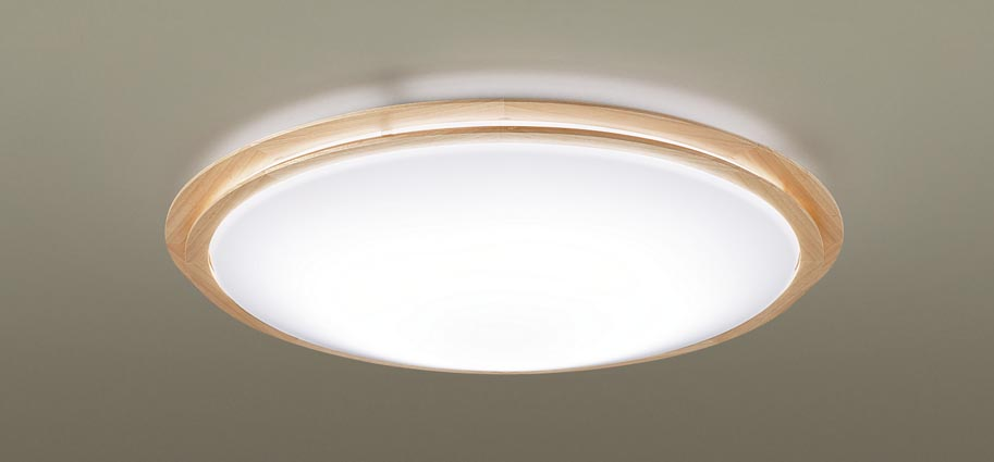 【最安値挑戦中!最大25倍】パナソニック LGC51147 シーリングライト 天井直付型 LED(昼光色~電球色) リモコン調光・調色 カチットF ~12畳 メイプル