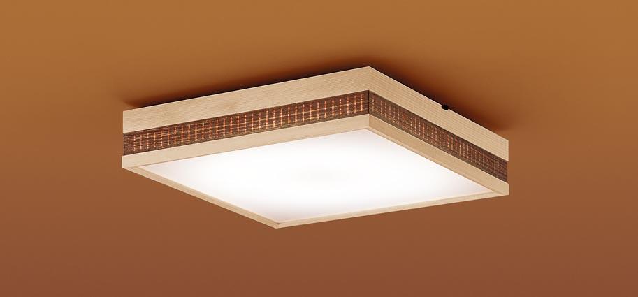 【最安値挑戦中!最大25倍】パナソニック LGC35802 和風シーリングライト 天井直付型 LED(昼光色~電球色) リモコン調光・調色 カチットF パネル付型 ~8畳 白木枠