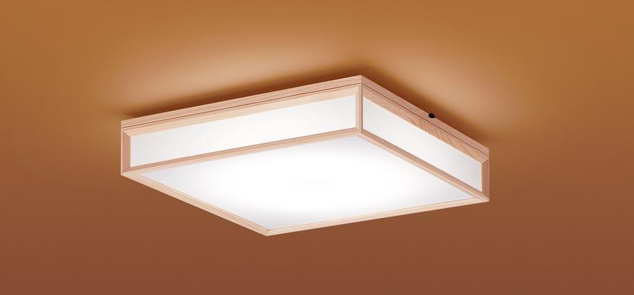 【最安値挑戦中!最大25倍】パナソニック LGC35804 和風シーリングライト 天井直付型 LED(昼光色~電球色) リモコン調光・調色 カチットF パネル付型 ~8畳 白木枠