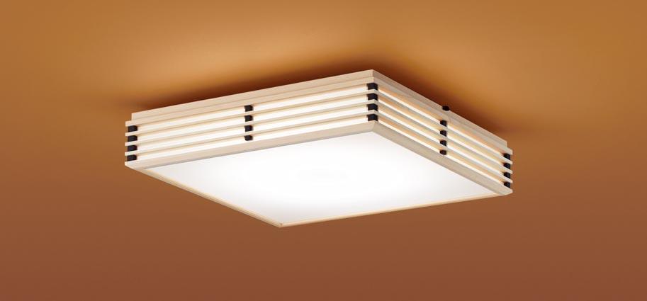 【最安値挑戦中!最大25倍】パナソニック LGC35805 和風シーリングライト 天井直付型 LED(昼光色~電球色) リモコン調光・調色 カチットF パネル付型 ~8畳 白木枠