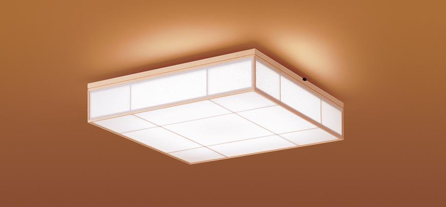 【最安値挑戦中!最大25倍】パナソニック LGC35806 和風シーリングライト 天井直付型 LED(昼光色~電球色) リモコン調光・調色 カチットF ~8畳 白木枠