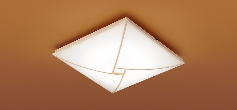 【最安値挑戦中!最大25倍】パナソニック LGC35808 和風シーリングライト 天井直付型 LED(昼光色~電球色) リモコン調光・調色 カチットF ~8畳 白木枠