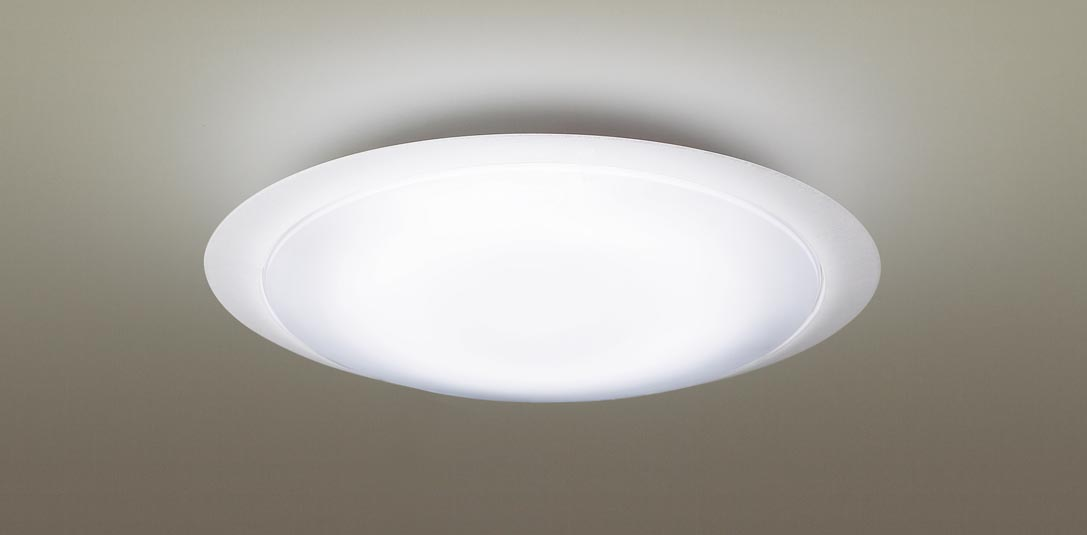 【最安値挑戦中!最大25倍】パナソニック LGC41601 シーリングライト 天井直付型 LED(昼光色~電球色) リモコン調光・調色 カチットF ~10畳 透明枠 模様入り