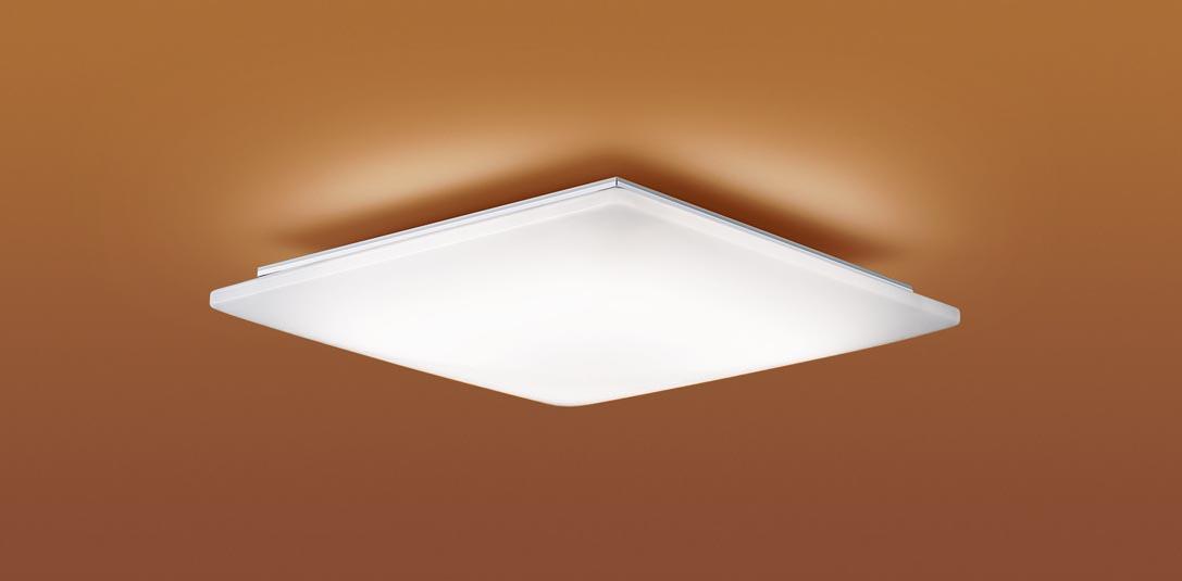 【最安値挑戦中!最大25倍】パナソニック LGC45810 和風シーリングライト 天井直付型 LED(昼光色~電球色) リモコン調光・調色 カチットF ~10畳 模様入り