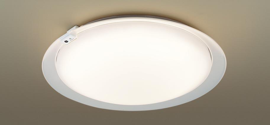 【最安値挑戦中!最大25倍】パナソニック LGC51605 シーリングライト 天井直付型 LED(昼光色~電球色) リモコン調光・調色 カチットF ~12畳 透明枠