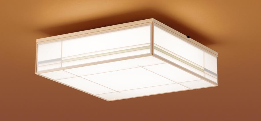 【最安値挑戦中!最大25倍】パナソニック LGC55801 和風シーリングライト 天井直付型 LED(昼光色~電球色) リモコン調光・調色 カチットF ~12畳 白木枠