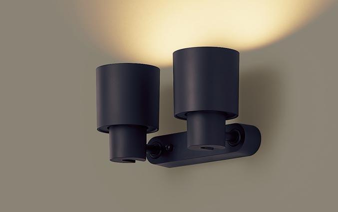 美しい 【最大44倍スーパーセール】パナソニック XAS3311LCB1(ランプ別梱) スポットライト LED (電球色) 調光 (ライコン別売) 天井直付型・壁直付型・据置取付型 美ルック 拡散タイプ ブラック, ニチナンチョウ 637a4678