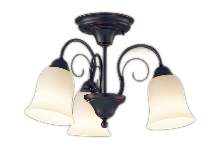 【最安値挑戦中!最大34倍】パナソニック LGB57345K 小型シャンデリア Uライト方式吊下型 LED(電球色) 白熱電球60形3灯器具相当 ブラック ~4.5畳 [∀∽]