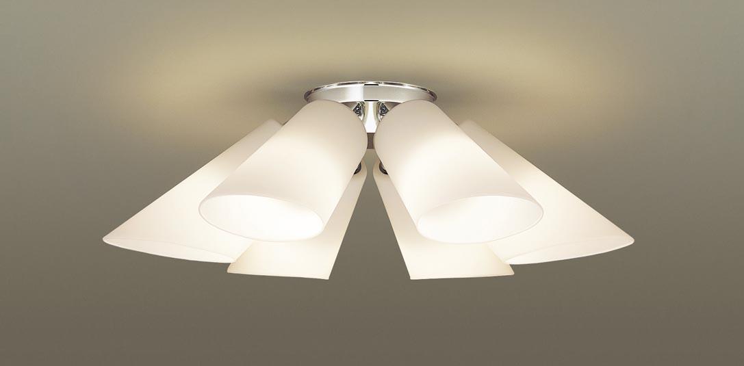 【最安値挑戦中!最大25倍】パナソニック LGB57602K シャンデリア 天井直付型 LED(電球色) 白熱電球40形6灯器具相当 ~6畳