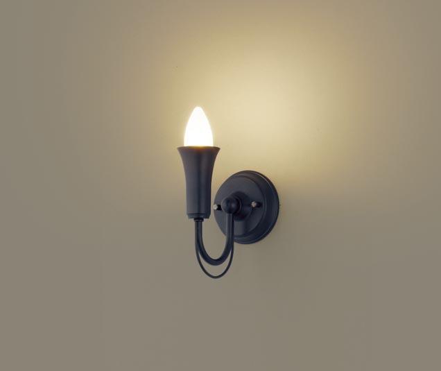 【最安値挑戦中!最大34倍】パナソニック LGB81646 ブラケット 壁直付型 LED(電球色) 40形電球1灯相当 ブラック ランプ同梱包 [∀∽]