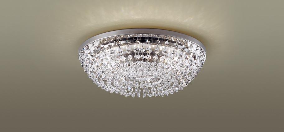 【最安値挑戦中!最大34倍】パナソニック LGBZ0121 シーリングライト天井直付型 LED(昼光色~電球色) リモコン調光・調色 シャンデリング ~6畳 [∀∽]