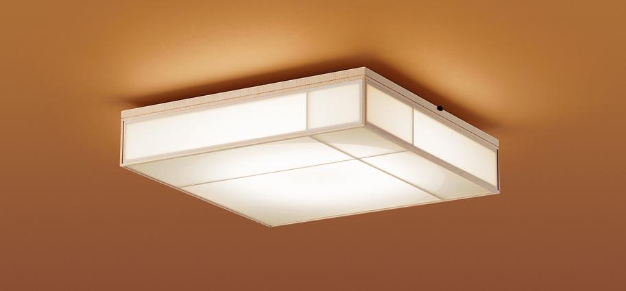 【最安値挑戦中!最大24倍】パナソニック LGBZ1864 和風シーリングライト 天井直付型 LED(昼光色~電球色) リモコン調光・調色・カチットF ~8畳 [∀∽]
