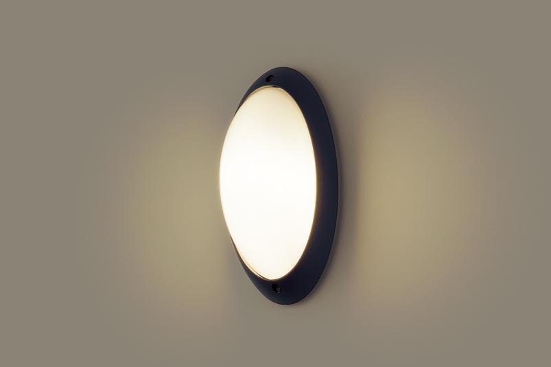 【最安値挑戦中!最大34倍】パナソニック LGW85055BZ ポーチライト 壁直付型 LED(電球色) 防雨型 白熱電球60形1灯器具相当 オフブラック [∀∽]