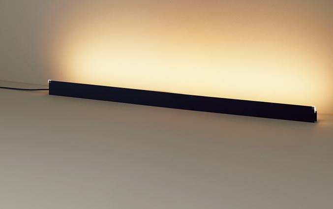 【最安値挑戦中!最大25倍】パナソニック SF061B フロアスタンド 据置型 LED(電球色) ホリゾンタルライト 美ルック フットスイッチ付 L1200 ブラック