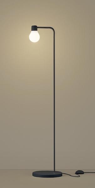 【最大44倍スーパーセール】パナソニック SF918B スタンドライト 床置型 LED(電球色) フロアスタンド 拡散タイプ・フットスイッチ付 白熱電球60形1灯器具相当 ブラック