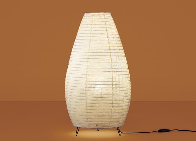【最安値挑戦中!最大25倍】パナソニック SF998Z 和風スタンドライト 床置型 LED(電球色) フロアスタンド 中間スイッチ付 白熱電球40形1灯器具相当 美濃和紙