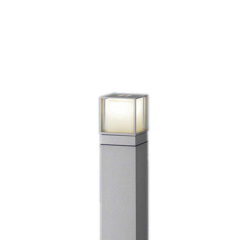 【最安値挑戦中!最大34倍】パナソニック XLGE540SLU エントランスライト 地中埋込型 LED(電球色) 防雨型/地上高600mm 白熱電球40形1灯器具相当 シルバー [∽]