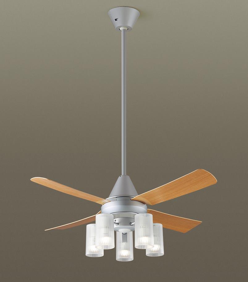 【最安値挑戦中!最大25倍】パナソニック XS91113Z シーリングファン(照明器具付) 直付吊下型 LED(電球色) 27W 60形5灯 ~10畳 パイプ長さ900mm