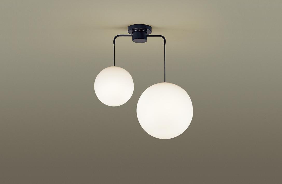 【最安値挑戦中!最大34倍】パナソニック LGB19221BZ シャンデリア 吊下型 LED(電球色) Uライト方式 MODIFY(モディファイ) ブラック [∀∽]