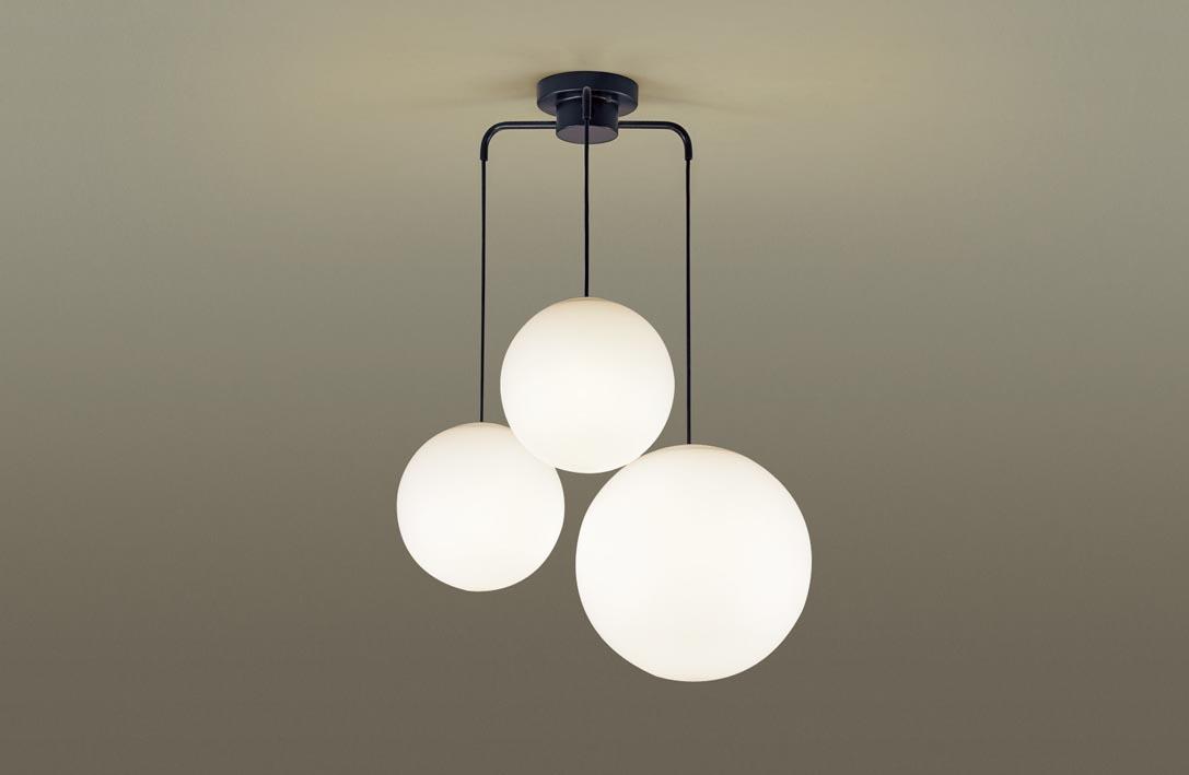 【最安値挑戦中!最大34倍】パナソニック LGB19411BZ シャンデリア 吊下型 LED(電球色) Uライト方式 MODIFY(モディファイ) ブラック ~6畳 [∀∽]