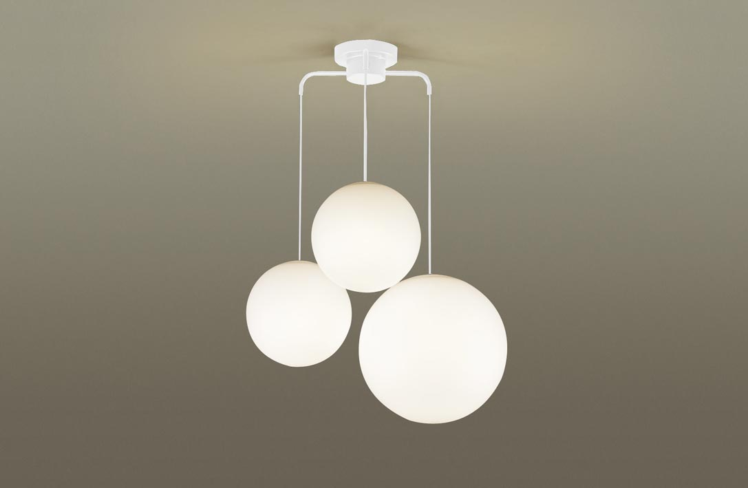 【最安値挑戦中!最大24倍】パナソニック LGB19411WZ シャンデリア 吊下型 LED(電球色) Uライト方式 MODIFY(モディファイ) ホワイト ~6畳 [∀∽]