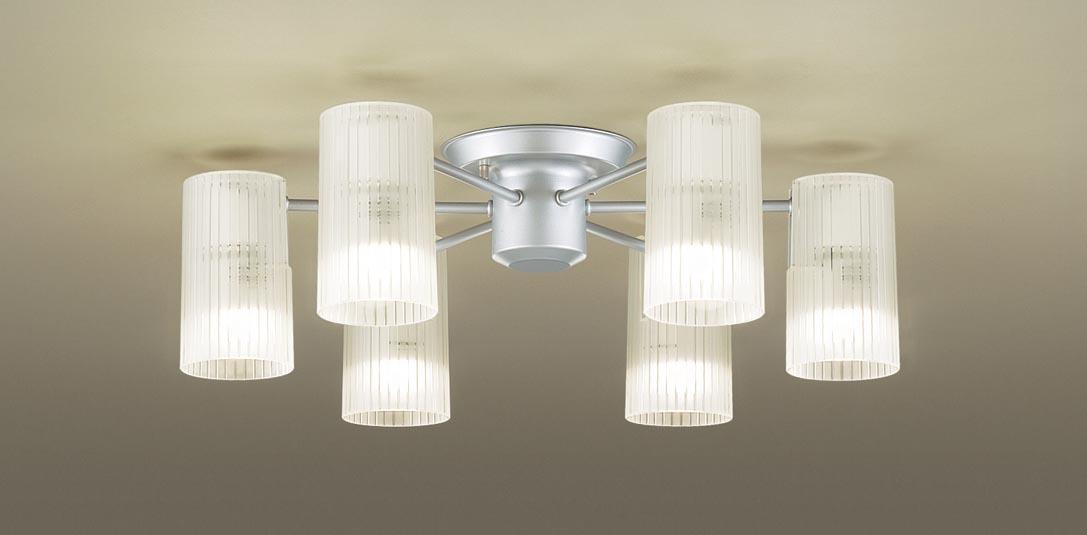 【最安値挑戦中!最大34倍】パナソニック LGB57653K シャンデリア 天井直付型 LED(電球色) 白熱電球40形6灯器具相当 ~6畳 [∀∽]