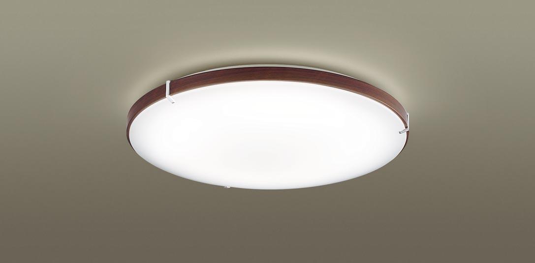 【最安値挑戦中!最大34倍】パナソニック LGBX3480 シーリングライト 天井直付型 LED(昼光色・電球色) Bluetooth対応 ~12畳 ウォールナット調 [∀∽]