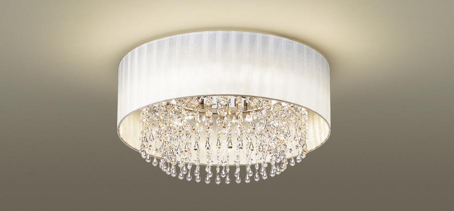 【最安値挑戦中!最大25倍】パナソニック LGBZ0122 シーリングライト天井直付型 LED(昼光色~電球色) リモコン調光・調色 シャンデリング ~6畳