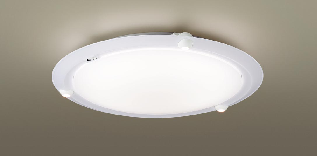 【最安値挑戦中!最大34倍】パナソニック LGBZ1107 洋風シーリングライト 天井直付型 LED(昼光色・電球色) リモコン付 調光・調色 ~8畳 ホワイト [∀∽]