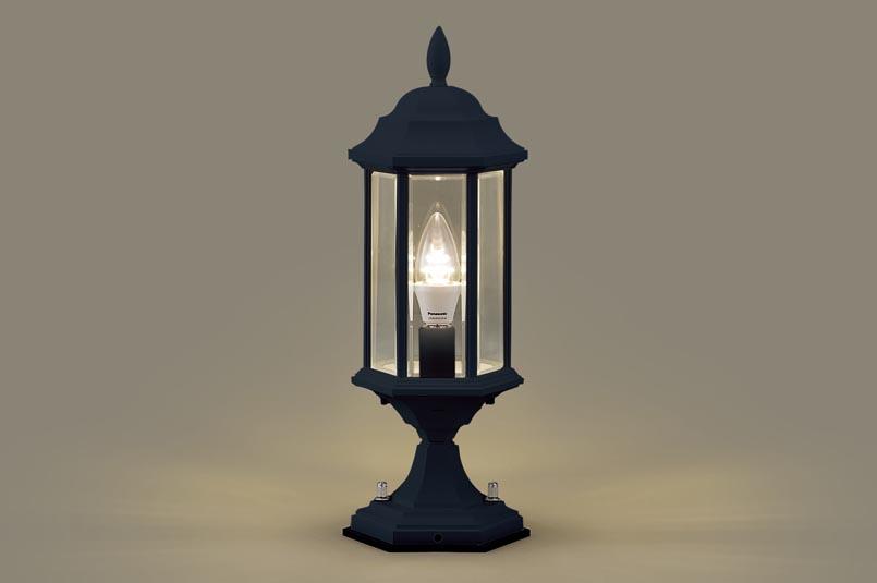 【最安値挑戦中!最大25倍】照明器具 パナソニック LGW56905B 門柱灯 据置取付型 LED 電球色 40形電球1灯相当 防雨型