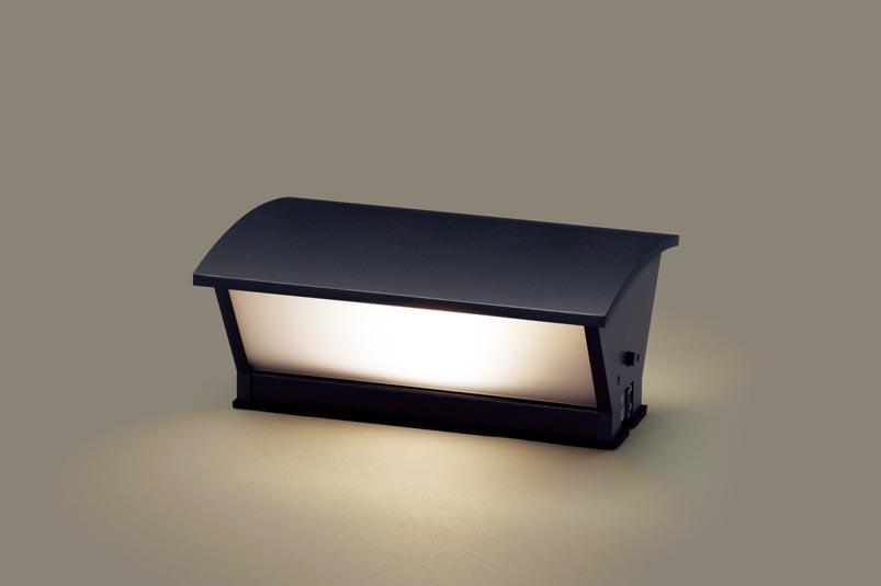 【最安値挑戦中!最大25倍】パナソニック LGWJ56001F 門柱灯 据置取付型 LED(電球色) 防雨型・明るさセンサ付 パネル付型 白熱電球40形1灯器具相当