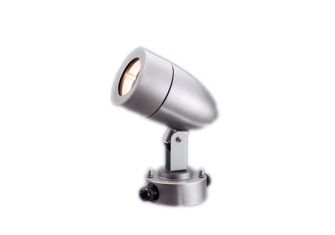 【最安値挑戦中!最大25倍】パナソニック NNN01672SK スポットライト 据置取付型 LED電球(電球色) 防雨型 パネル付型 ランプ別売