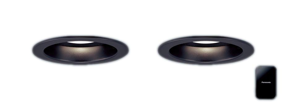 【最安値挑戦中!最大34倍】パナソニック XLGB79037LB1 ベースダウンライトLED(電球色) 集光 調光(ライコン別売) スピーカー付 天井埋込φ100 黒色 [∀∽]