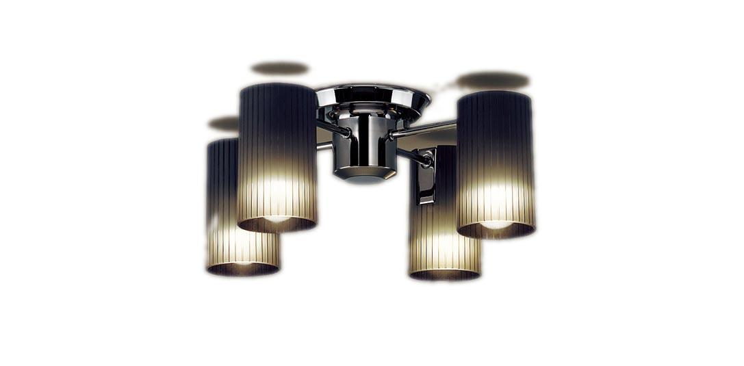 【最安値挑戦中!最大34倍】パナソニック LGB57451K シャンデリア 天井直付型 LED(電球色) 白熱電球40形4灯器具相当 [∀∽]