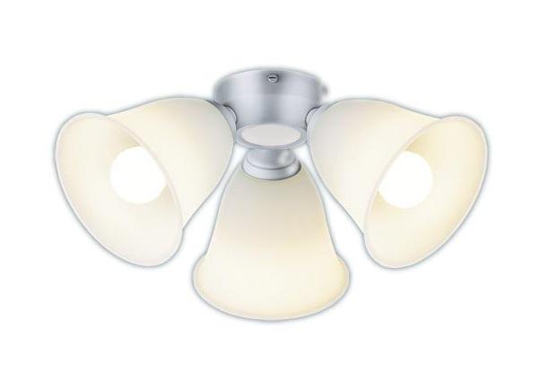 【最大44倍お買い物マラソン】パナソニック SPL5344K シャンデリア LED(電球色) シーリングファン専用 白熱電球100形3灯器具相当 ~8畳 シルバーメタリック
