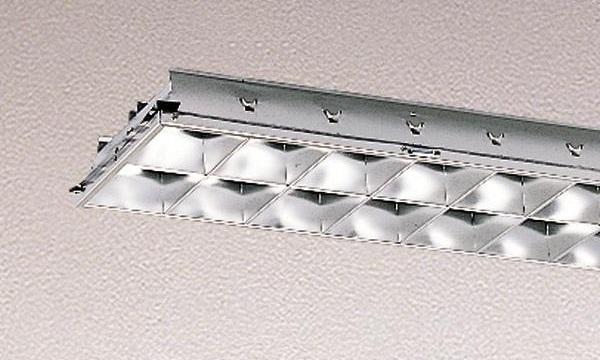 【最安値挑戦中!最大34倍】東芝 F-4265・V ベースライト システムユニット 高効率アルミルーバー グレア分類:V 受注生産品 [∽§]