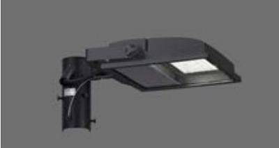 【最安値挑戦中!最大34倍】東芝 JAT-1071(K) LED小形角形投光器 部材 取付アーム(1灯用) グレーイッシュブラック 受注生産品 [∽§]