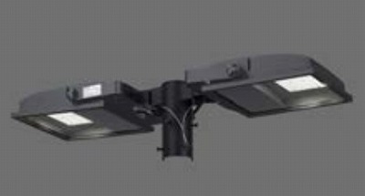 【最安値挑戦中!最大34倍】東芝 JAT-2071(K) LED小形角形投光器 部材 取付アーム(2灯用) グレーイッシュブラック 受注生産品 [∽§]