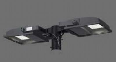 【最安値挑戦中!最大34倍】東芝 JAT-2071(S) LED小形角形投光器 部材 取付アーム(2灯用) メタリックシルバー 受注生産品 [∽§]