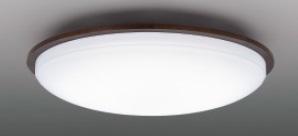【最安値挑戦中!最大25倍】東芝ライテック LEDH80447-LC シーリングライト LED一体形 調光・調色 電球色~昼光色 リモコン同梱 ダークブラウン ~6畳