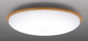 【最安値挑戦中!最大25倍】東芝ライテック LEDH80455-LC シーリングライト LED一体形 調光・調色 電球色~昼光色 リモコン同梱 ライトブラウン ~6畳