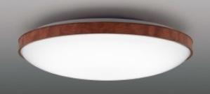 【最安値挑戦中!最大25倍】東芝ライテック LEDH81474-LC シーリングライト LED一体形 調光・調色 電球色~昼光色 リモコン同梱 ダークブラウン ~8畳