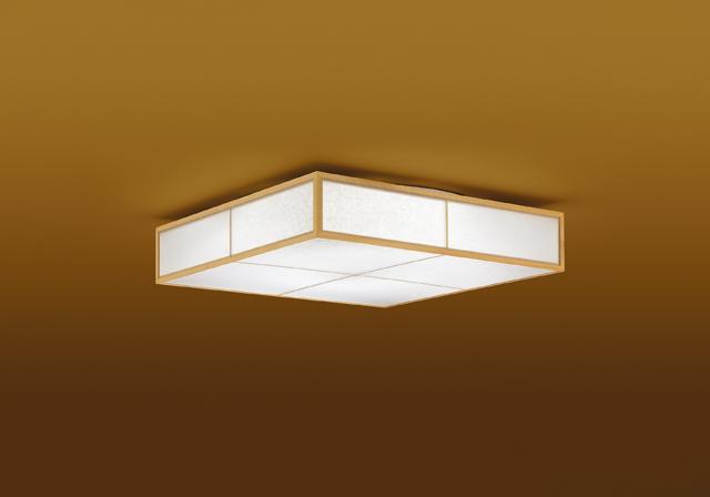【最安値挑戦中!最大25倍】東芝ライテック LEDH81581-LC 和風照明 シーリングライト LED一体形 調光・調色 電球色~昼光色 キレイ色 あとからリモコン別売 ~8畳 白木枠