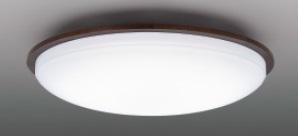 【最安値挑戦中!最大25倍】東芝ライテック LEDH84447-LC シーリングライト LED一体形 調光・調色 電球色~昼光色 リモコン同梱 ダークブラウン ~10畳