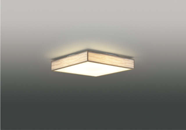 【最安値挑戦中!最大25倍】東芝ライテック LEDH84767-LC 和風照明 シーリングライト LED一体形 調光・調色 電球色~昼光色 キレイ色 あとからリモコン別売 ~10畳 白木枠