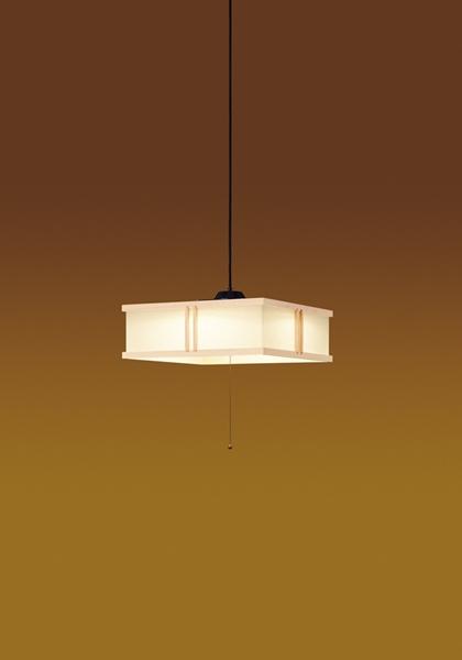 【最安値挑戦中!最大25倍】東芝ライテック LEDP82015PL-LD 和風照明 ペンダント LED一体形 段調光 電球色 引掛シーリング プルスイッチ付 ~12畳 白木枠