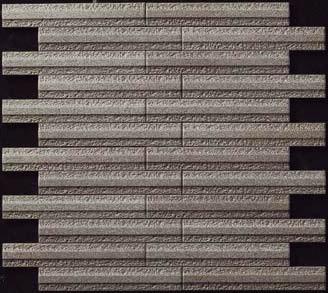 【まいどDIY】LIXIL 【ECP-2515N1/GLN4(ダークグレー) 4シート/ケース】25×151角片面小端施釉(短辺)ネット張り グラナス ライン エコカラットプラス[♪]