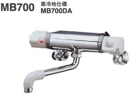 【最安値挑戦中!最大24倍】バス水栓 ミズタニ MB700DA 壁付サーモ混合栓 寒冷地用 [■]