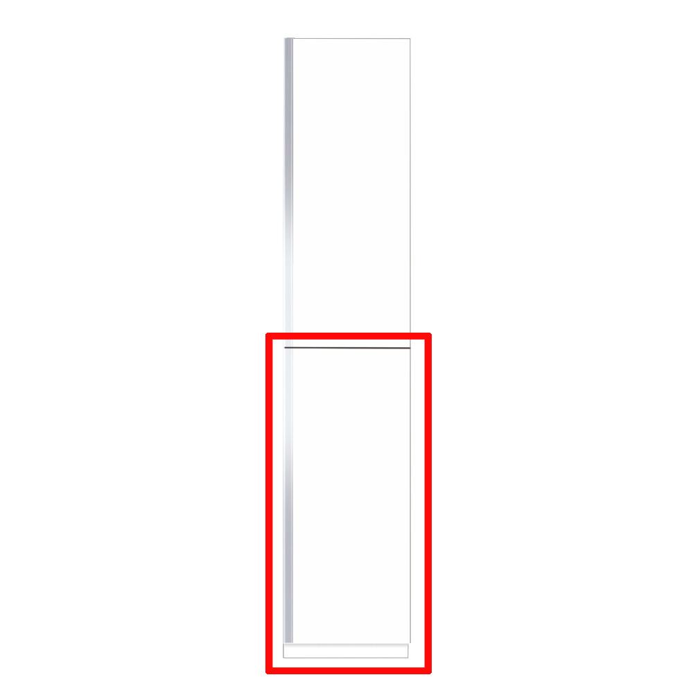 【まいどDIY】マイセット S5-45FT プラスワン S5 玄関収納 トールユニット 下台のみ 高さ220cmタイプ 間口45cm 奥行35.8cm [♪▲]
